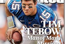 Tim Tebow / Just love this fine young man and all his talent  / by Victoria Iannucci
