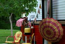 """Glamping Cowgirl Style / One day I dream of having my own vintage trailer.  I want to decorate it with cowgirl materials of various patterns.  It will be a cozy retreat for only me.  """"Glamping, Camping, Schlamping..I am starting to include all that encompasses.  / by Sheryl Kirk"""