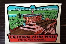 Vintage Cathedral of the Pines