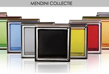 Mendini collection glazen bouwstenen / Glazen bouwstenen met prachtige kleuren. Ontworpen door de beroemde ontwerper Mendini.