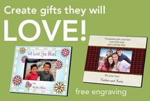 Create Personalized Gifts / Create personalized gifts that they will treasure forever!   - free engraving