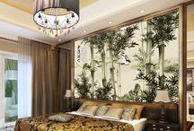 Papier peint personnalisé 3 / Les bambous
