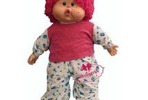 Renkli  saçlı Lahana bebek