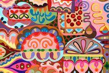 Lisa Cornish - Colourful Patterns