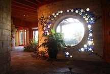 Homey Hobbit Holes / Earthships / by Suzette Booher