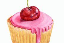 art - Пирожные