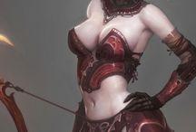 여성 캐릭터