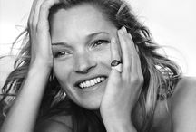 Black and whites / Kate Moss