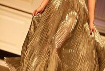 gold dresses