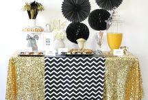 table decorations graduation