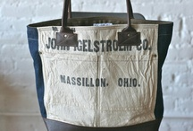 For toting things around ~  vintage style / by Mechelle Morris