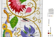 haft krzyżykowy-różne