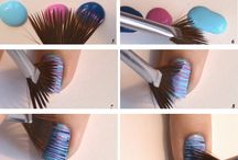 Nail art - step by step