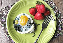 Healthy delicious breakfasts