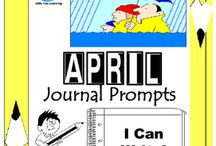 April Writing Prompts Quick Writes / April Writing Prompts Quick Writes. Creative writing prompts for everyday in the month of April. ************************************************************************ Though your students may not have highly developed writing skills to express their thoughts, they do have bright imaginations filled with all sorts of creative ideas. ************************************************************************