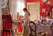 Peter Ilsted (1861-1933) / Art from Denmark.