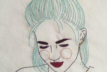 Embroidery ideas and stuuuffff