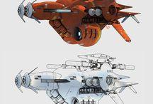 chris foss spaceships