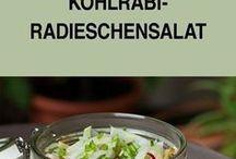 salat mit radiesen