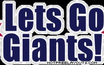 Giants to the Superbowl / by Louise Caparros DiCarlo