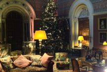 Christmas at Eastnor Castle / We love Christmas at Eastnor Castle! Our tree goes up in the Great Hall at the end of November and it takes 2 people a whole day to decorate! Here are some of our favourite pictures...