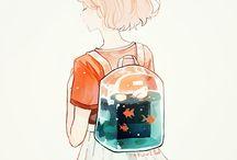 Anime & Art -- END / #anime #girl #beauty #random