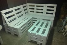 wooden furniture pallets / My ideas and project