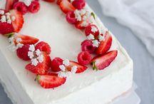 gâte au fraise