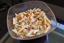 Kochen - Salat - Nudel - Käse