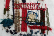 Hand and Machine Stitched Textiles / Hand and Machine Stitched Textiles / by Sarah Steel
