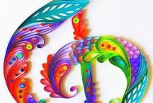 Quilling paper  crafts