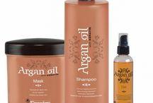 Keratina y Aceite de argan para el cabello