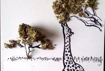 Weed Art