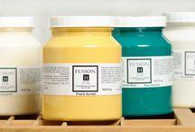 Fusion Mineral Paint is fantastisch / meubels restylen met behulp van Fusion Mineral Paint en Miss Mustard Seeds Milk Paint!