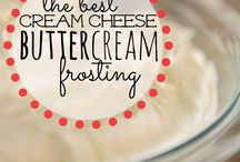 the best cream cheese buttercream frosting!
