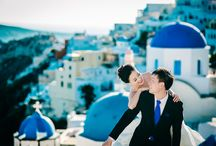 Sanorini wedding / wedding photoshoot Santorini island