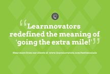 Testimonials / Check out what our clients have to say about us at http://learnnovators.com/testimonials/
