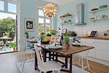 Dining/kitchen Spaces / by Becky Moran