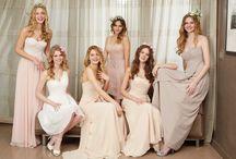 Bruidsmeisjes / Diverse jurken voor bruidsmeisjes van o.a. Mori Lee, Romantica en Phil Collins