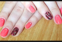 Nail art by me)