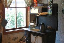 Wood Stoves / Variety of wood stoves