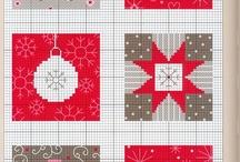Boże Narodzenie hafty - Christmas cross stitch