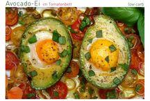 Avocado mit Ei überbacken