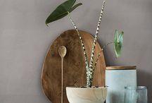 Interiors with plants