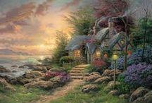 Thomas Kinkade / The Painter of Light