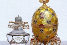 Faberge'ed altre uova decorate
