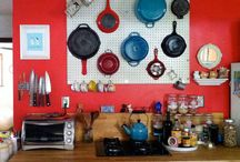 in the kitchen / by Ari Gonzales