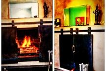 Kaggelskerms(fireplace screen)