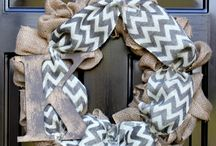For the love of burlap!  / by Allison Tharp