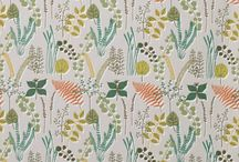 Fabulous Floral Fabrics / Floral fabrics on The Swedish Fabric Company